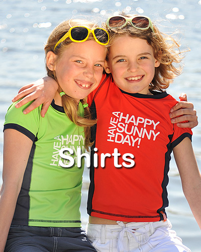 Kindercollectie UV werende shirts
